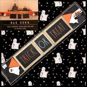 RAE DUNN  |  TRICK OR TREAT Banner